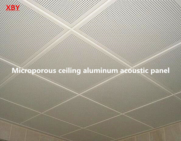 Microporous Aluminum Acoustic Ceiling Panel Roof Panel Decoration Ceiling Board