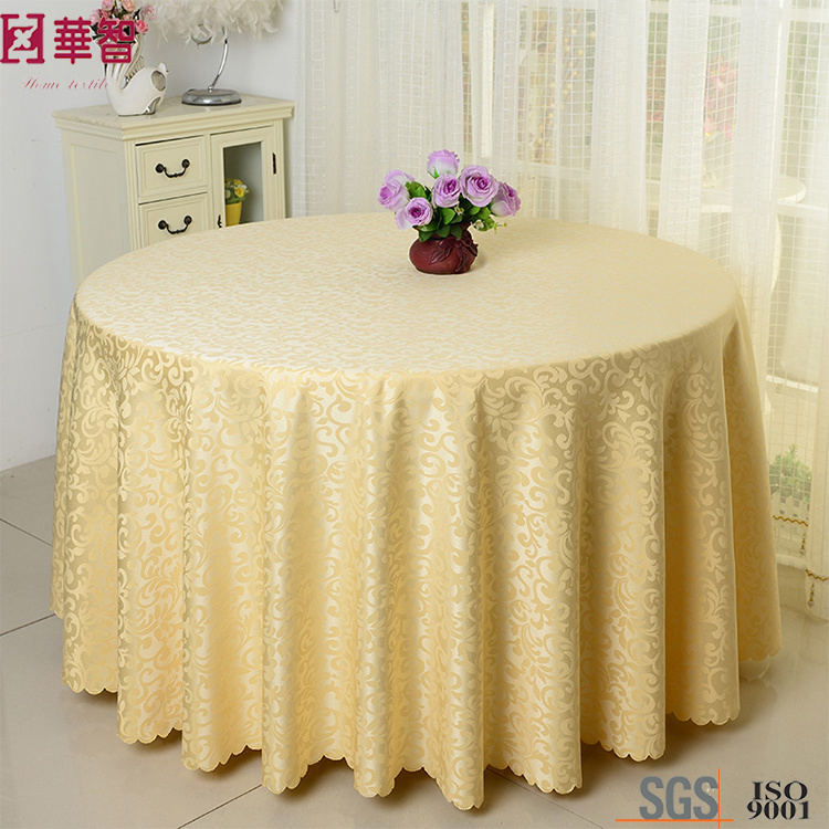 Cheap Jacquard Round Table Cloth