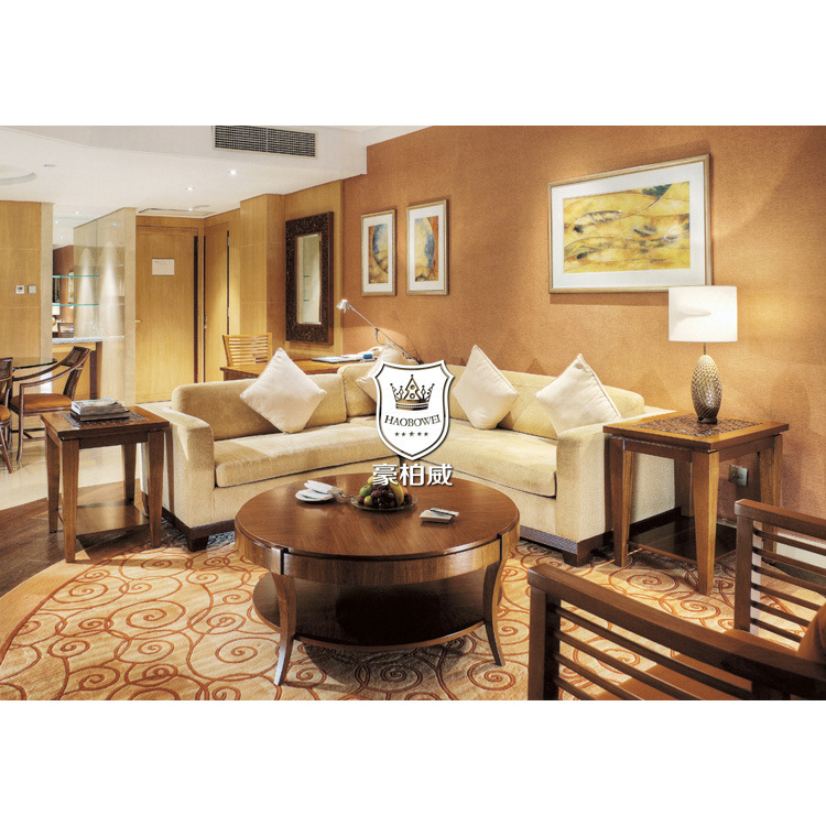 Resort Beige Modern L Shape Sofa