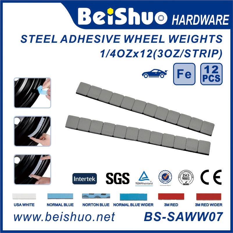 1/4 Oz*12 Segments Iron Wheel Balance Weight