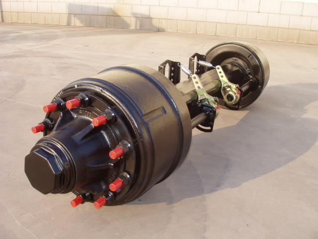 16t American Trailer Axles with Round Beam