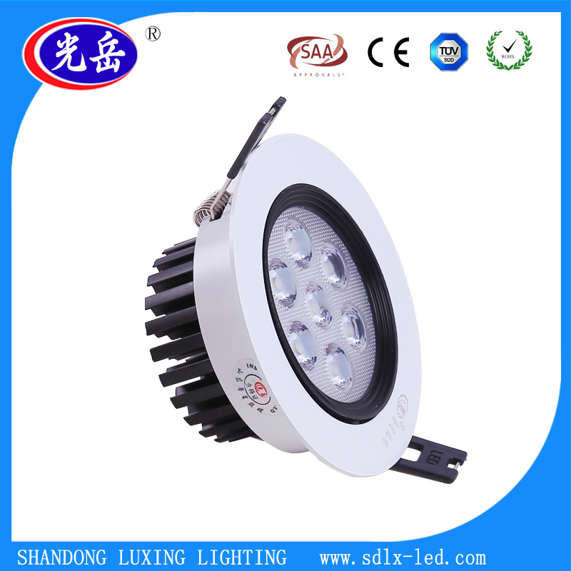 Anti-Dazzle 7W LED Ceiling Light for Indoor Lighting