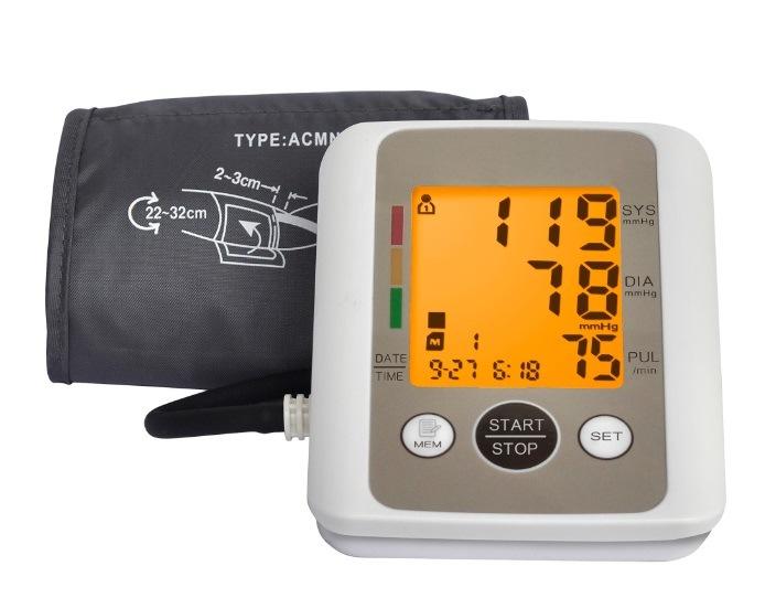 2 Users Household Digital Upper Arm Sphygmomanometer (BP 805)