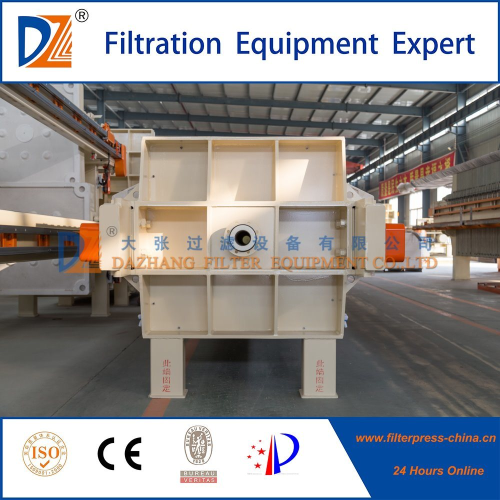 2017 New Technology Automatic Membrane Filter Press 1250 Series