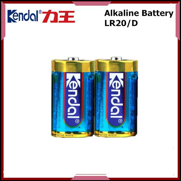 Dry Alkaline Cell Lr20 D Size Battery 1.5V