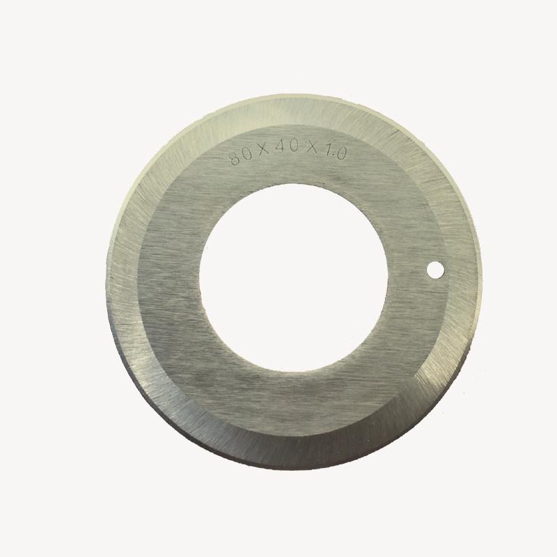 80*40*1.0 Round Slitting Machine Blade for Sewing Machine
