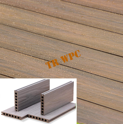 Durable Wood Plastic Composite Decking
