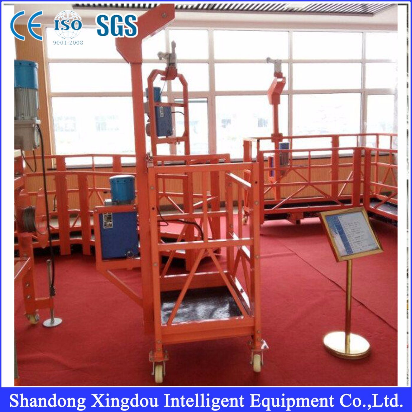 Hanging Work Intelligent Lifting Suspended Platform