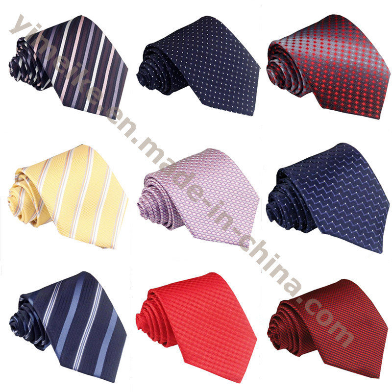 Fashion Formal Twill Polyester Silk Mens Neck Ties