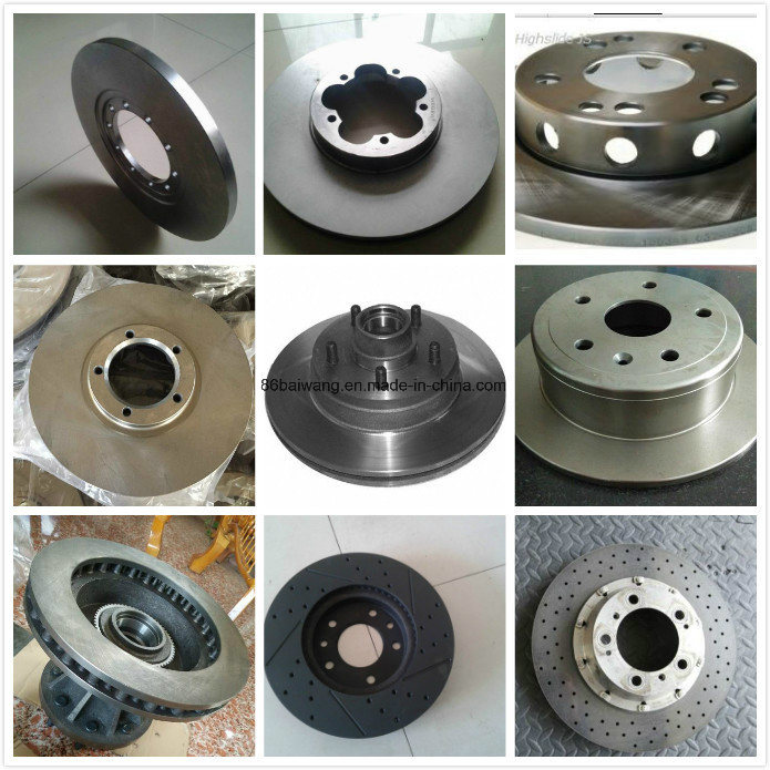 Drilled & Slotted Works & Modified Brake Rotor Discs