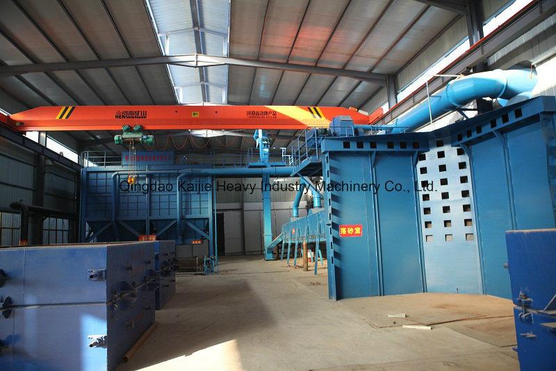 Vacuum Molding Casting Line in Aluminum Products