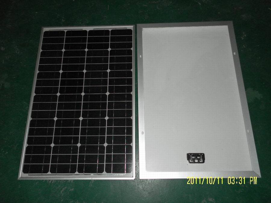 Mono Solar Panel 120W Direct to Philippines, Nigeria, Russia, Mexico etc (GSPV120M)