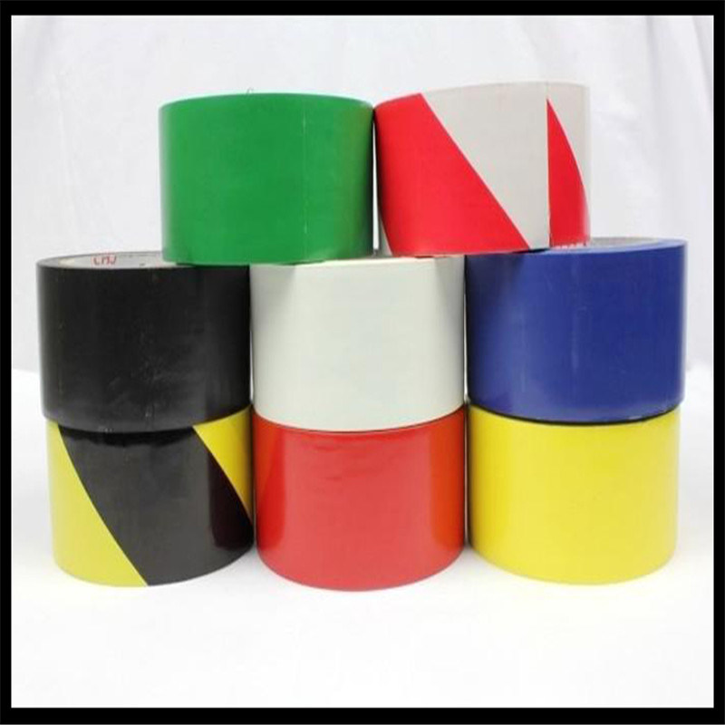 Multicolor Caution PVC Warning Floormarking Tape