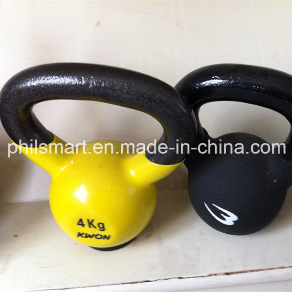 Barbell Fitness Vinyl Dipped / Coated Kettlebell