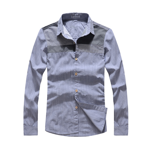 100% Cotton Fashion Long Sleeve Shirt for Men