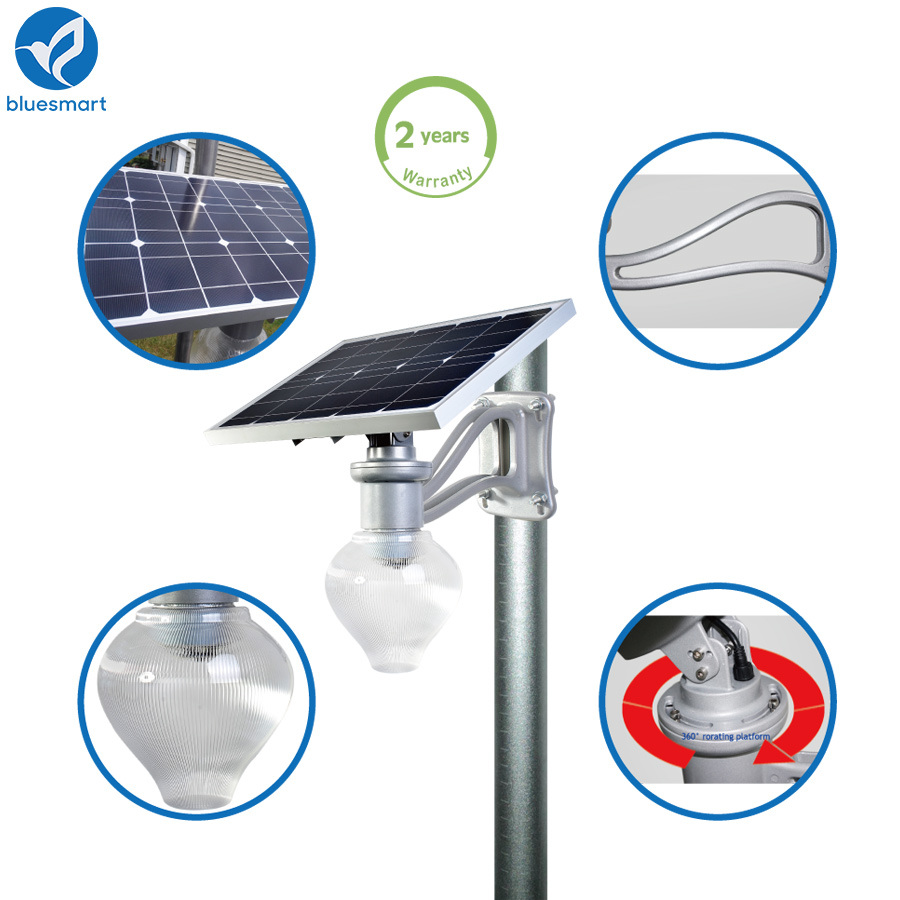 Solar Garden LED Light 9W 12W Path Light Wall Mounting