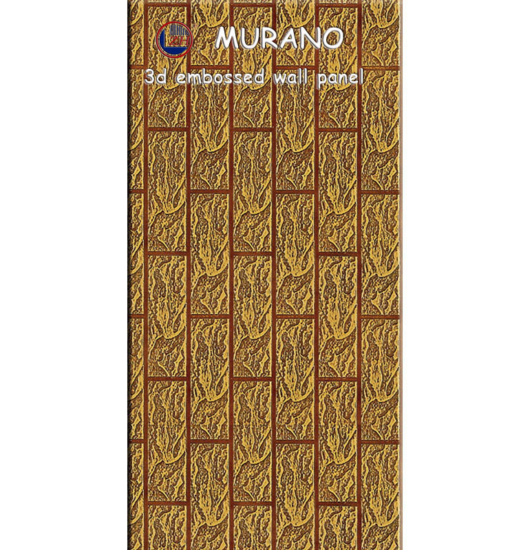 Zhihua 3D Embossed Interior Decorative MDF Wall Panel Il08