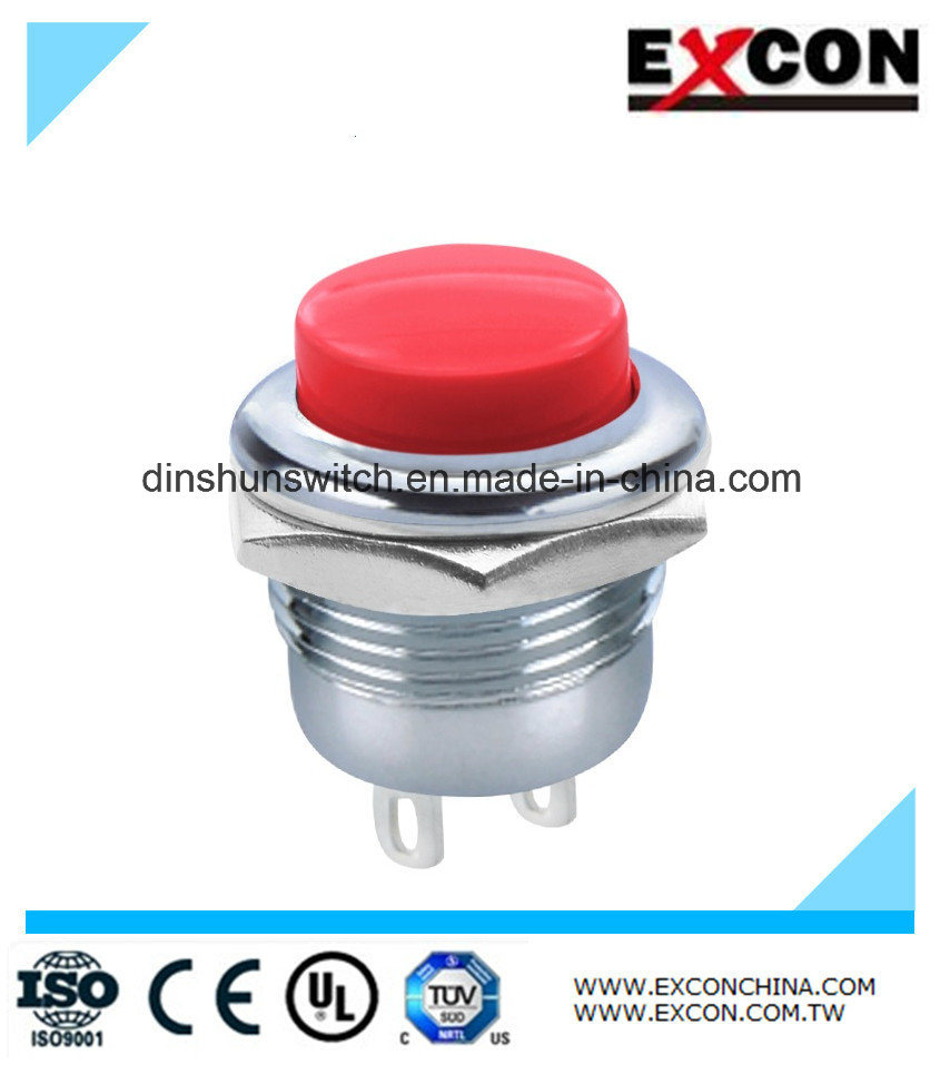 Pb02 Push Button Switch Touch Switch with Reset Function