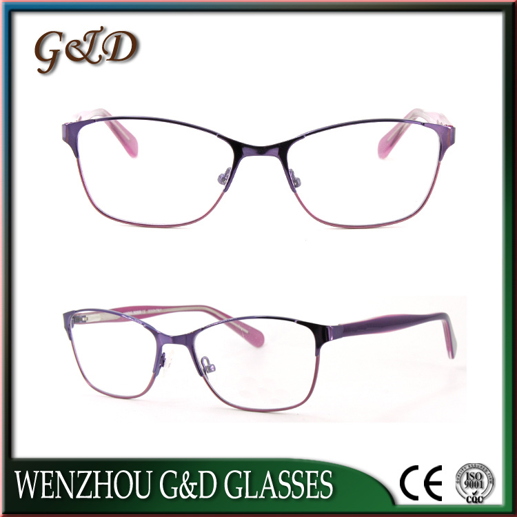 High Quality Metal Eyewear Eyeglass Optical Frame 52-310