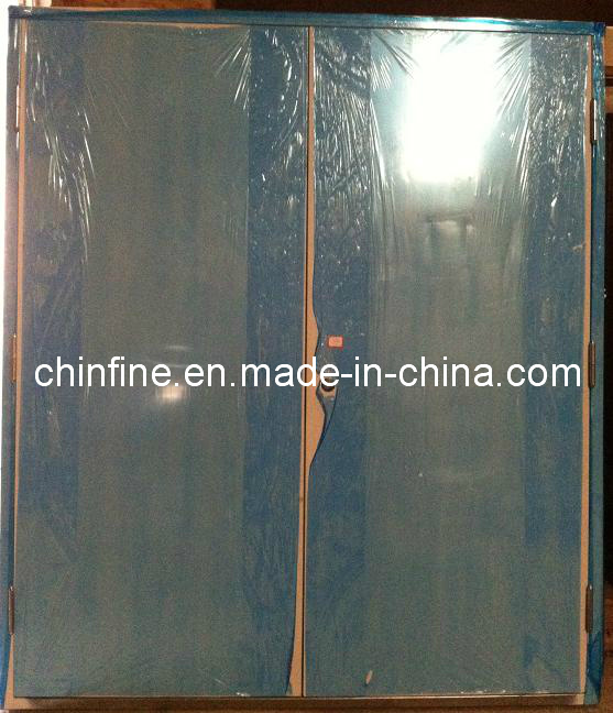 Double Steel Fire Door with Bs and UL Certificate (CF-F009)