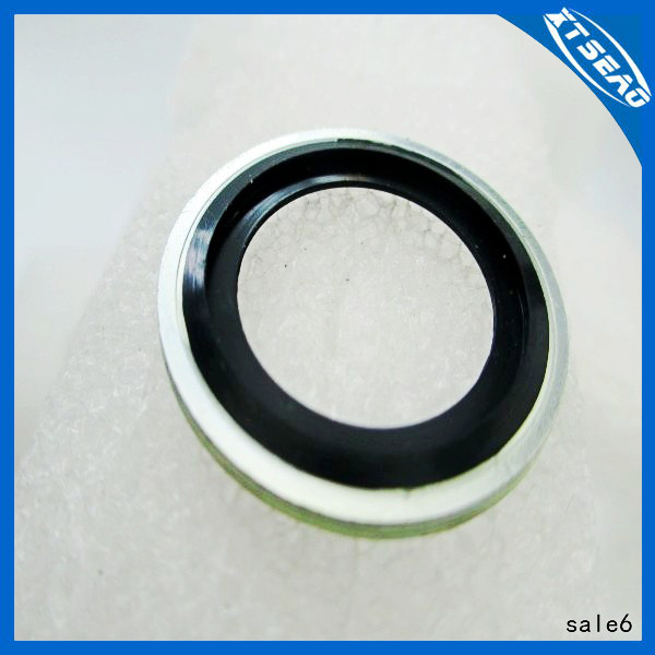 Rubber Bonded Metal Gaskets Self Centered.