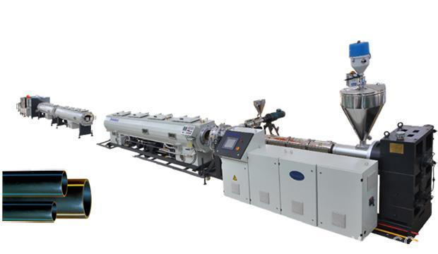 HDPE Plastic Pipe Extruding Production Line