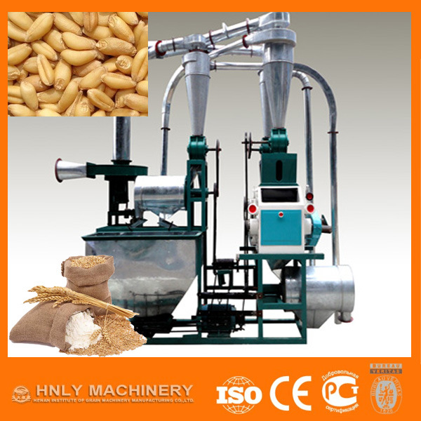 50t/D Complete Set Wheat Flour Milling Machine