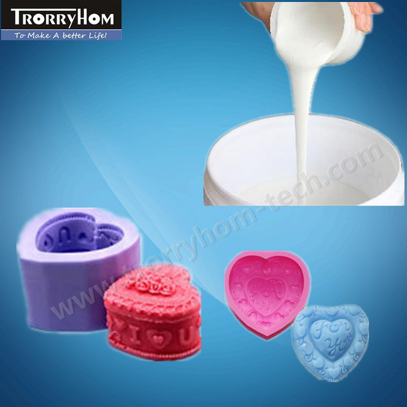 Tin Silicone Rubber for Multicolors Candle Molds Molding