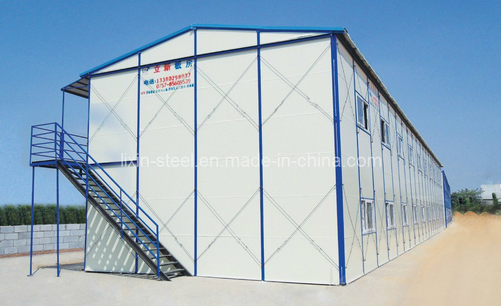 Prefabricated House with Light Steel Frame and Panel