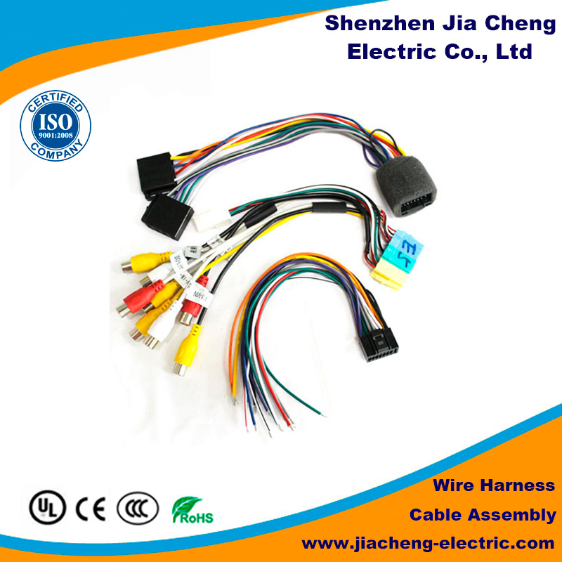 Customized Switch Connector 4 Pins Wiring Harness with Factory Price