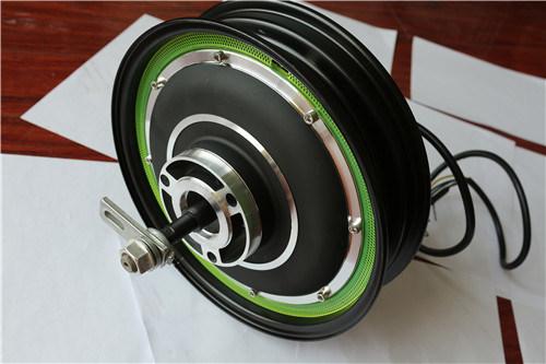 Brushless Gearless 350W/500W 60V Hub Motor