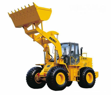 Small Capacity 3.0 Square Meter Personal Use Loader