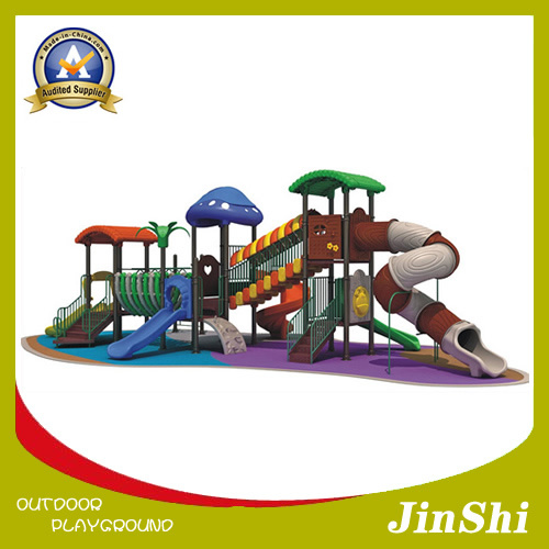 Fairy Tale Series 2018 Latest Outdoor/Indoor Playground Equipment, Plastic Slide, Amusement Park Excellent Quality En1176 Standard (TG-001)