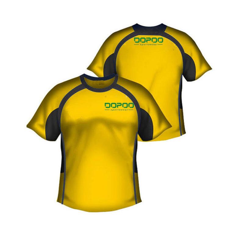 Sublimation Football T Shirt Soccer Shirt Uniform with Custom Design