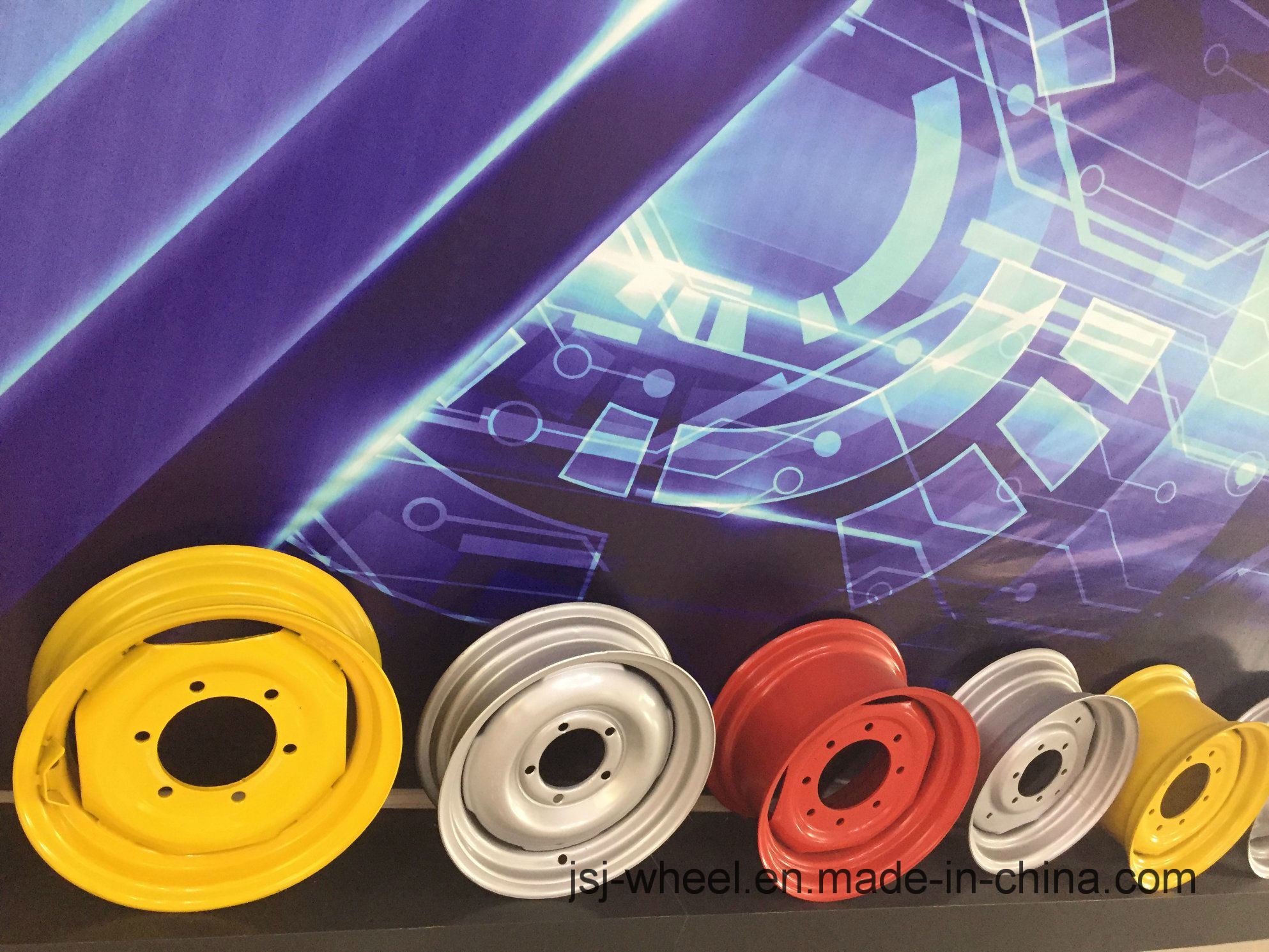 Wheel Rims for Tractor/Harvest/Machineshop Truck/Irrigation System-13
