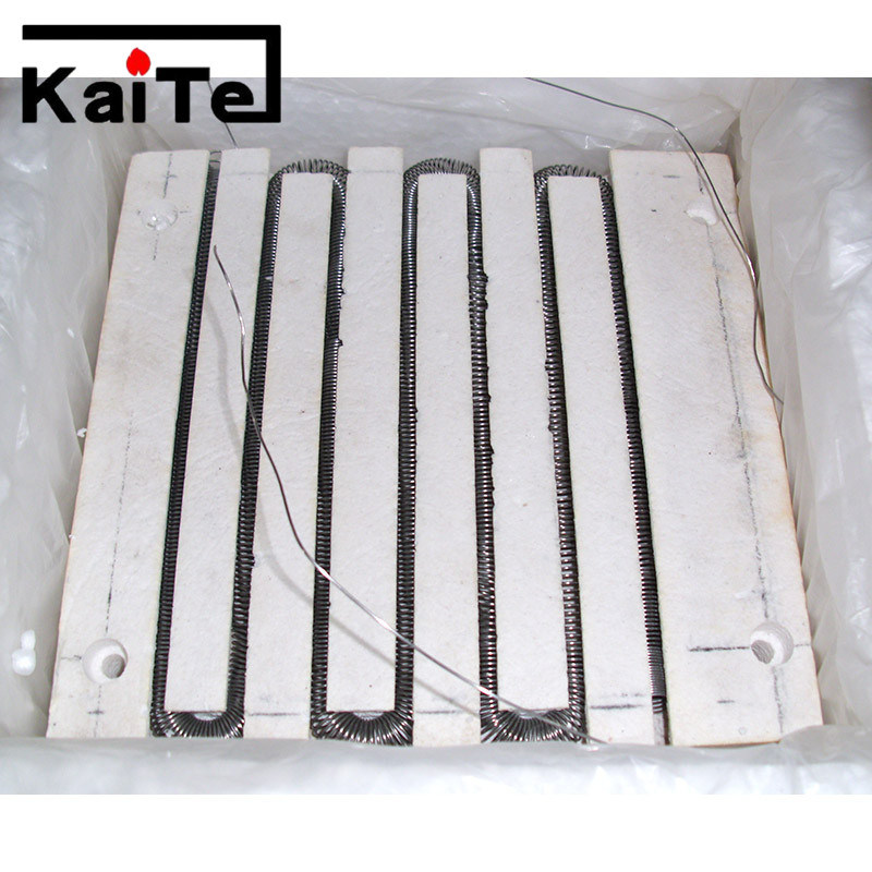 Ceramic Fiber Plate with Heating Elements