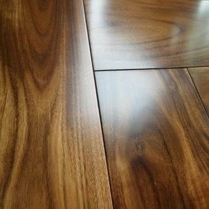 Radiant Heated Premier Grade Acacia Walnut Parquet Wood Floors