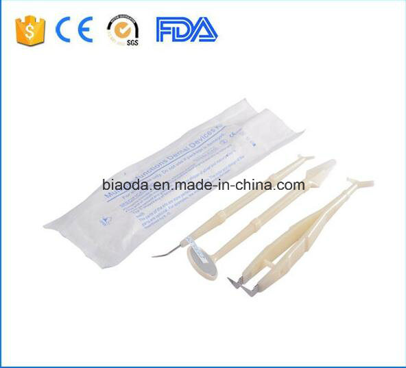 Disposable Dental Instrument Kit with 3 Parts
