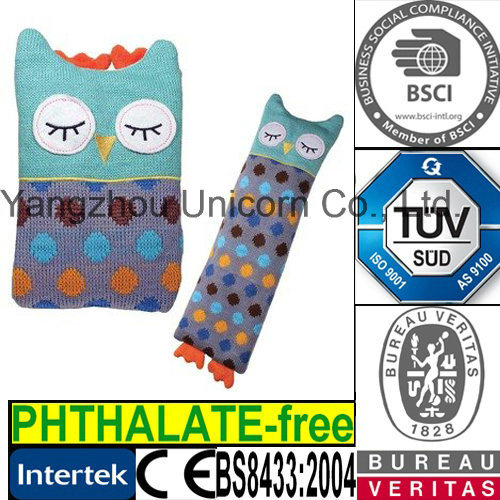 Owl Toy Microwave Heated Wheat Bag