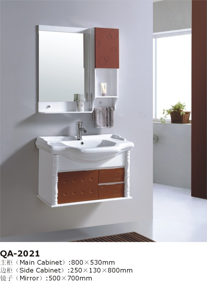 china white red bathroom vanity pop wall designs cabinet gbw057