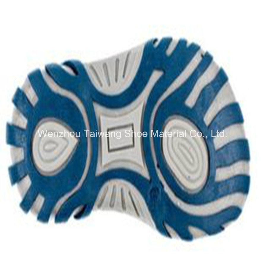 Sports Shoes Sandals Soles TPR Wear Three-Color Four-Color Combination Soles