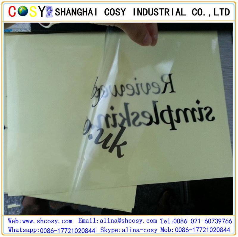 PVC Self Adhesive Vinyl Sticker for Digital Printing