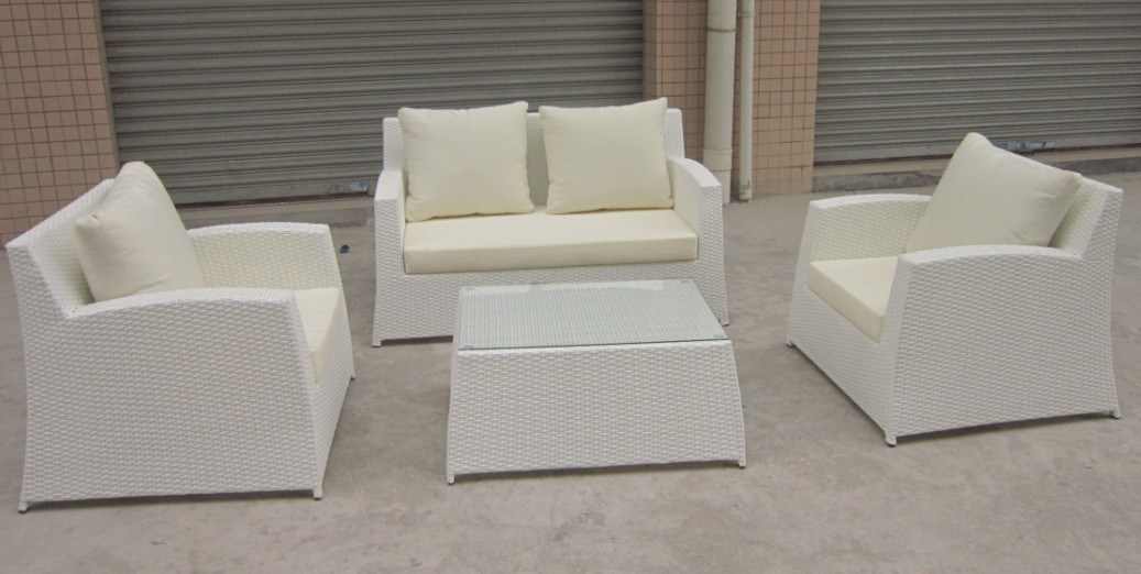 Modern White Wicker Outdoor Furniture Furniture Outdoor