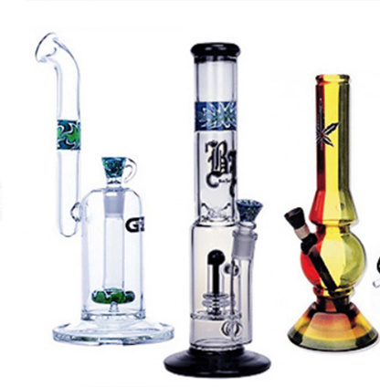 Borosilicate Glass Water Pipes for Tobacco Smoke