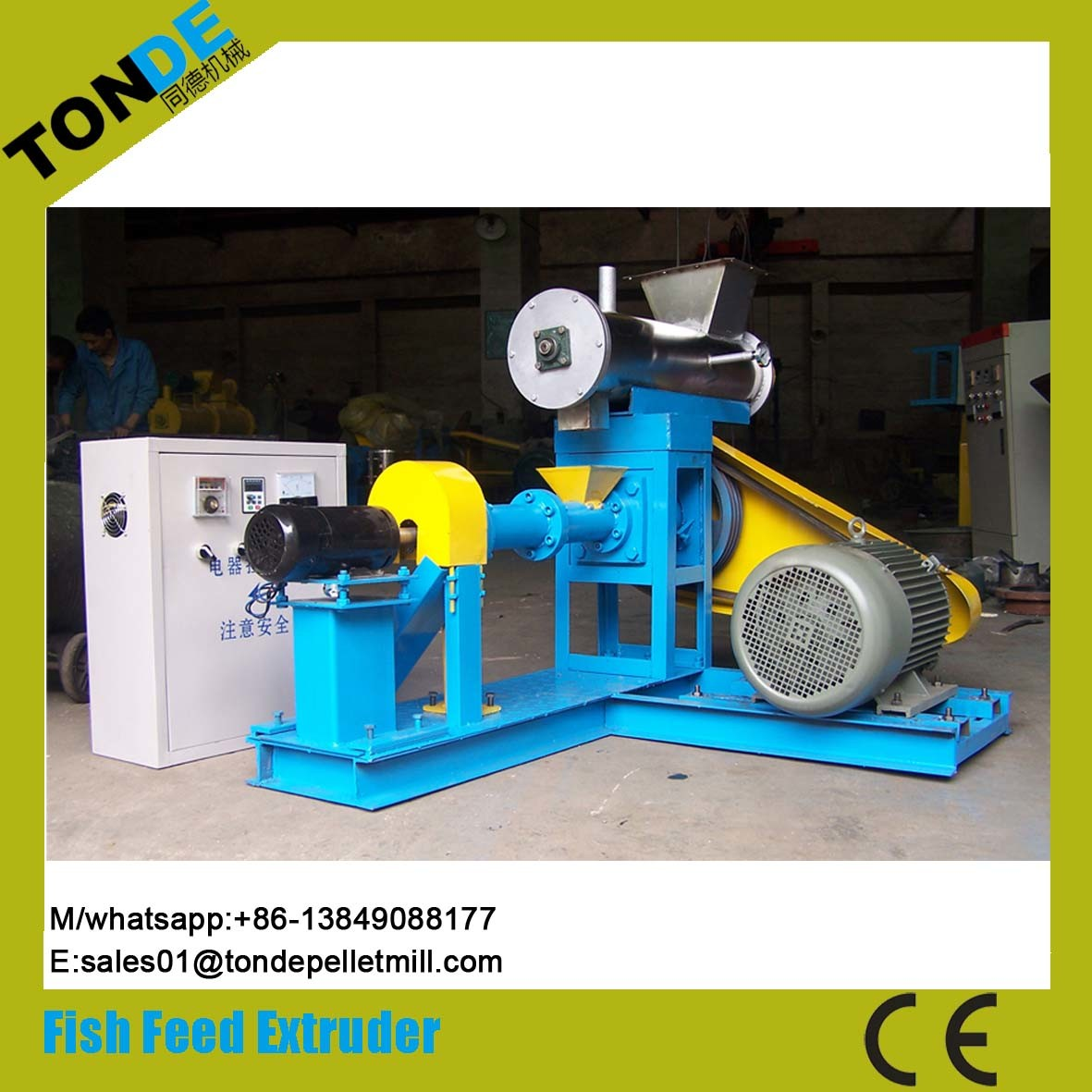 Automatic Ce Fish Pet Dog Feed Pellet Processing Plant