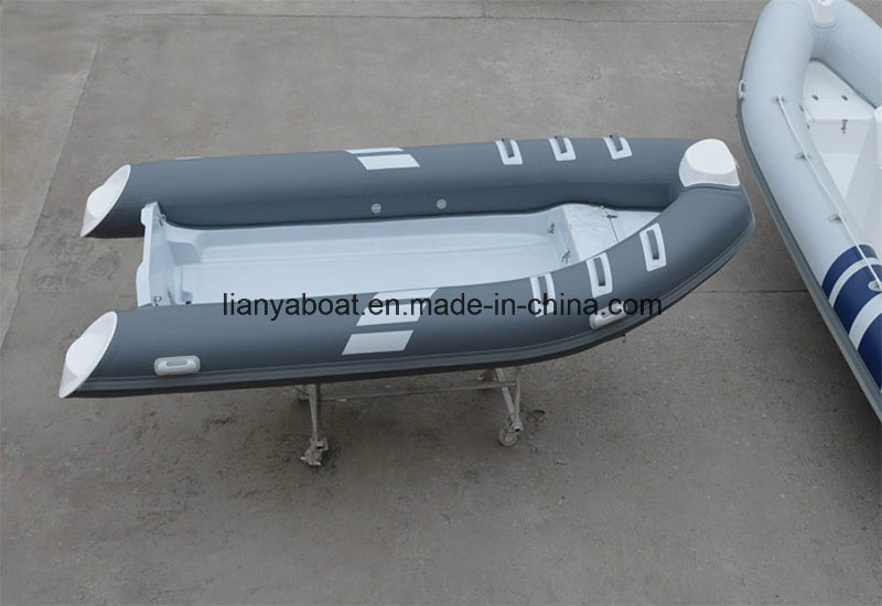 Liya Supply Rib 420 Boat Motor Inflatable Boat Sport Yacht Type
