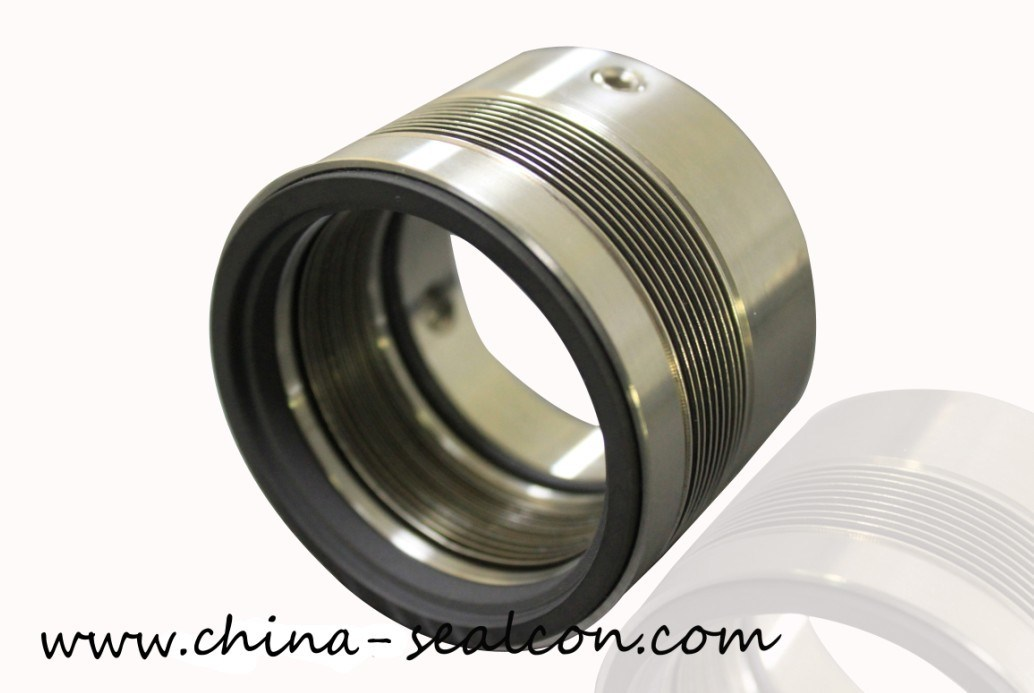 China metal bellow seals m serrated gaskte