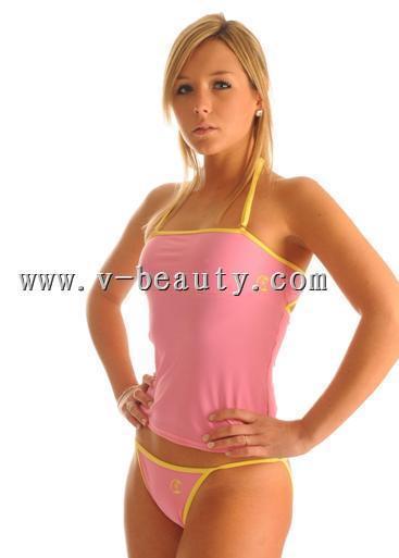 2 Pieces Lady's Swimwear ( Tankini)