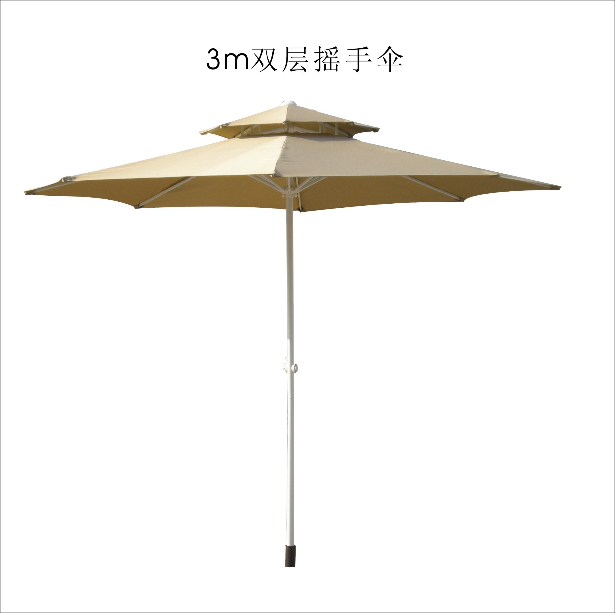 china patio umbrella with double layer table umbrella parasol sun parasol pau 018 china. Black Bedroom Furniture Sets. Home Design Ideas