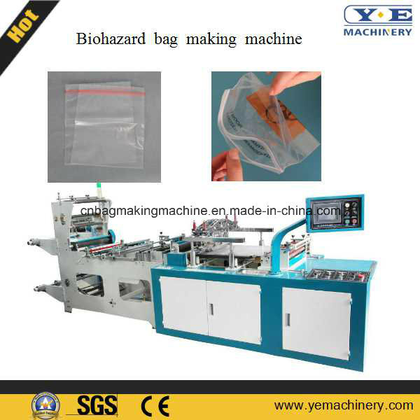 Biohazard Bag Zip Lock Bag Making Machine (ZIP-500/600H)